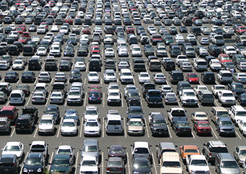 Parking spot burbank airport