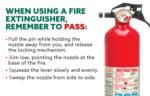 PASS method, fire extinguisher