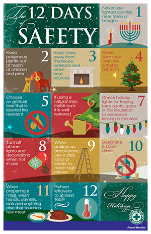 Holiday Safety Tips From The National Safety Council